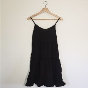 Mossimo Supply Black Beach Dress